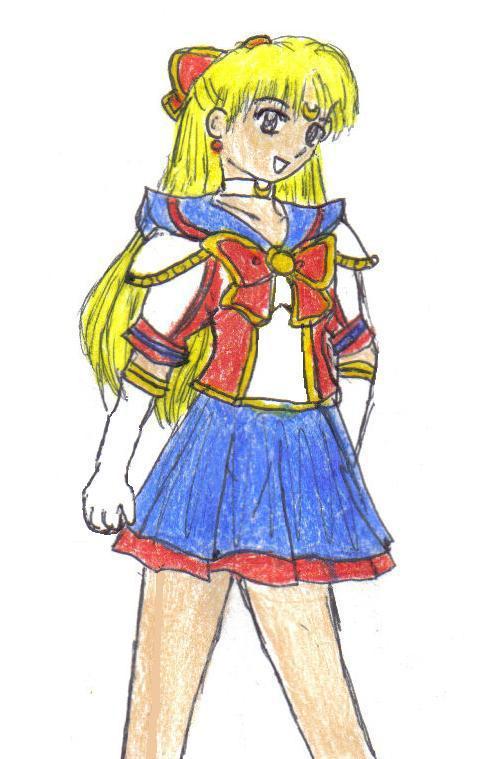 Sailor V -myu style- by Jago-Mizukami