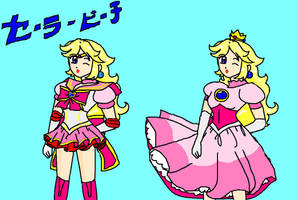 Sailor Princess Peach by Jago-Mizukami