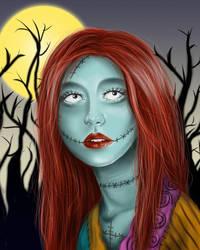 Nightmare Before Christmas - Sally's Song by meganrenae-art