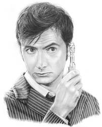 The Tenth Doctor by meganrenae-art
