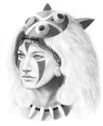 Princess Mononoke by meganrenae-art