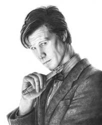Eleventh Doctor by meganrenae-art