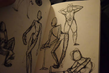 Stick Men by ninjaachemist