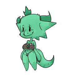 Better Kobold Princess by ninjaachemist