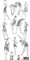 Poses. poses everywhere by Corade
