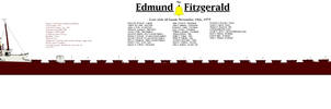 Edmund Fitzgerald by PhantomofTheRuhr