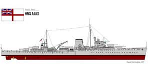 HMS Ajax by PhantomofTheRuhr