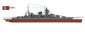 Scharnhorst by PhantomofTheRuhr