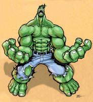 Hulk Mad by Chadwick-J-Coleman