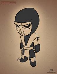 Inktober-#29-Chibi Scorpion by Chadwick-J-Coleman