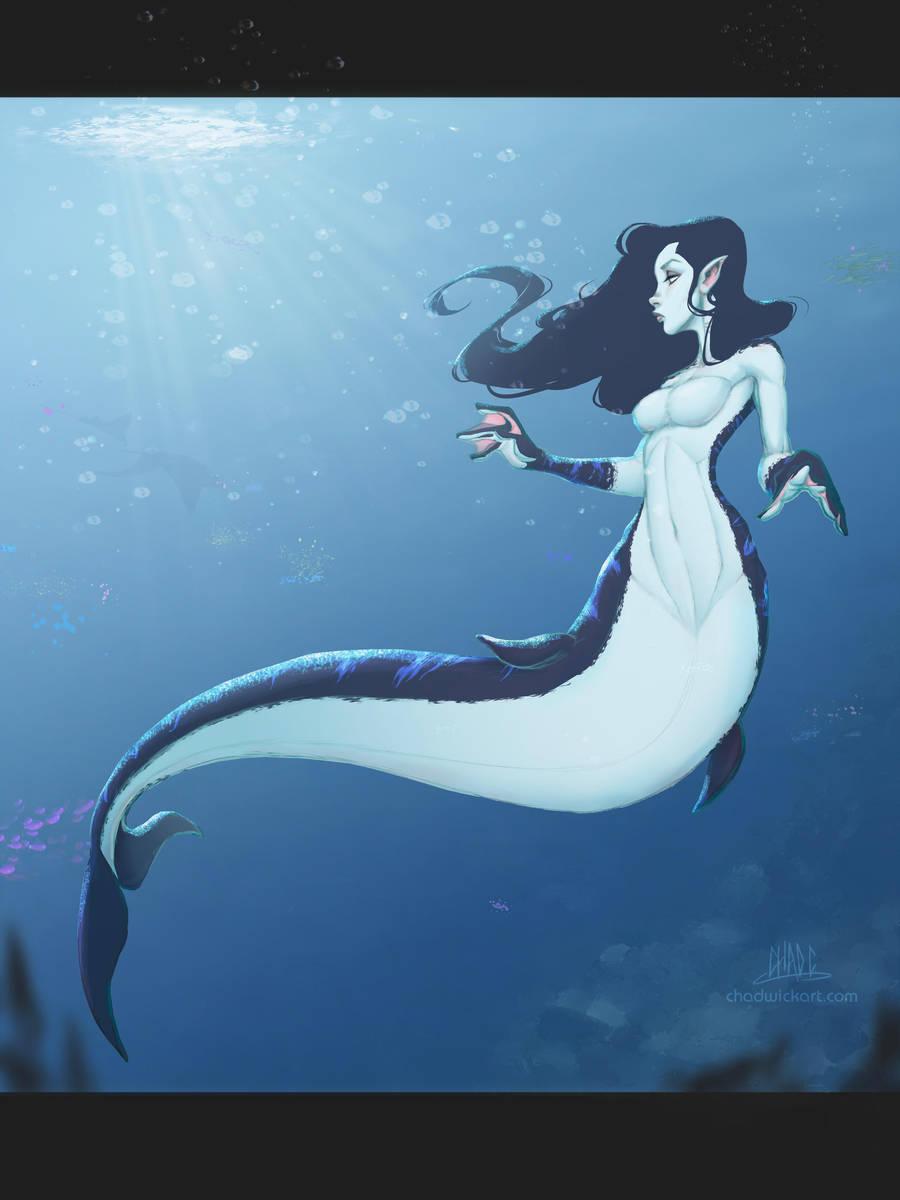 Mermay Mermaid 03 by Chadwick-J-Coleman