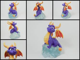 Spyro the dragon by Neronai