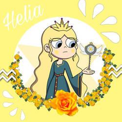 Helia the Light of Power by EtheriatheKnight500