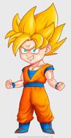 Chibi Goku by Pablo-RiquelmeRivera