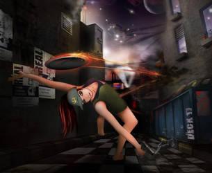 Clarice - City Chaos by daroe