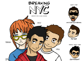Breaking NYC cast poster by CesarFilho14