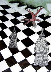(in)organic chess by darkBabette
