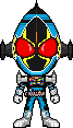 Kamen Rider Fourze Cosmic by Miralupa