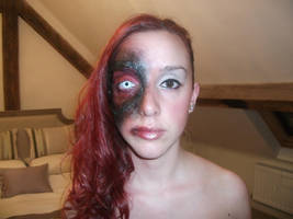 Halloween makeup. by CVKES