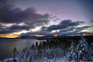winter sunrise by life-flashes