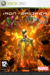 iron spider xbox 360 Cover by joeytaviani