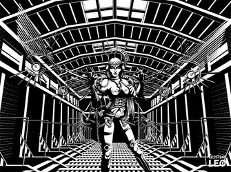 Industrial queen by cristianleo
