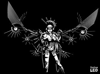 Industrial queen (Single) by cristianleo