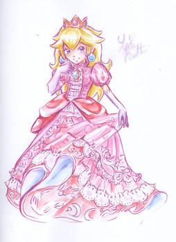 Princess Peach by LemiaCrescent