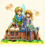 Hyrule Warriors Valentine by LemiaCrescent