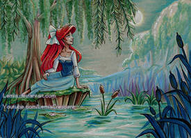 The Little Mermaid Kiss the Girl Ariel by LemiaCrescent