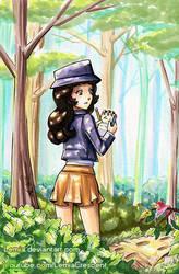 Commission for SaffronRavenGirl by LemiaCrescent