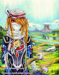 Hyrule Warriors Sheik by LemiaCrescent