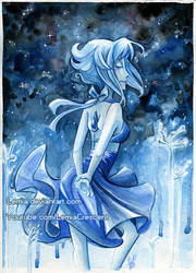 Steven Universe Lapis Lazuli by LemiaCrescent