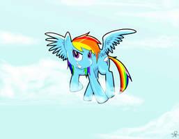 Rainbow Dashie by ValiumAngel