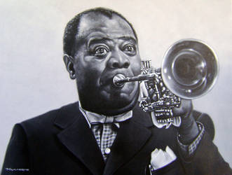 Louis Armstrong by tguiart