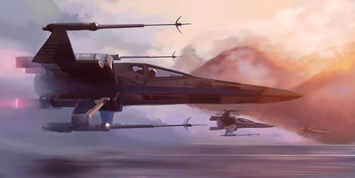 STAR WARS: X-Wings by Saliov