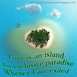 Heart Island by CieCheesemeister