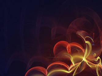 Love is a flame by kuschelirmel