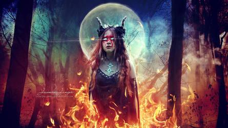 Witch Drums by kuschelirmel
