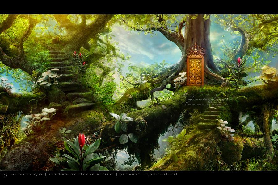 Hidden Treetops by kuschelirmel