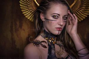 Scorpion Queen by kuschelirmel