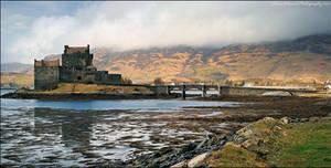 Eilean Donan Castle Panorama by Meowgli