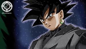 Black Goku by zika-arts