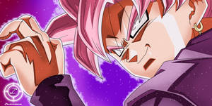 Black Goku Rose by zika-arts