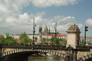 Hrad and bridge by Squirry