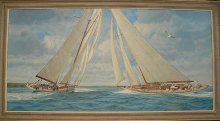 Spirit Of Sail by marine-artist-james