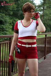 Rebecca Chambers Red Medic cosplay V by Rejiclad