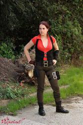 Ellie Langford Dead Space 3 cosplay VI by Rejiclad