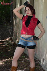 Claire Redfield RE Darkside Chronicles Basic II by Rejiclad