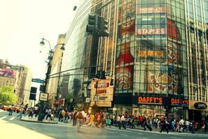 new york city. by berrytea